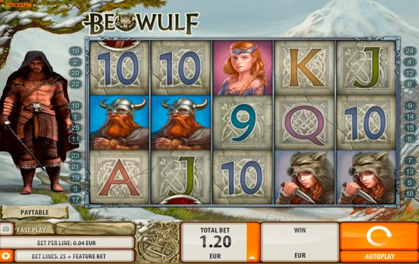 Beowulf Slot Free Spins