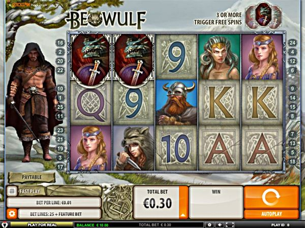 Beowulf Slot how to play