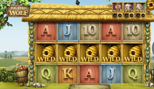 Big Bad Wolf Slot Wild