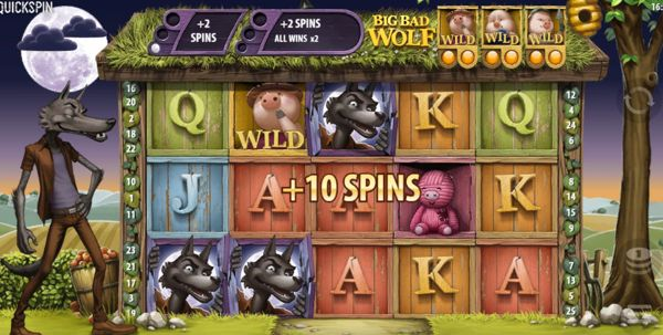 Big Bad Wolf Slot Win