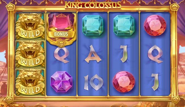 King Colossus Slot Wild Scatter