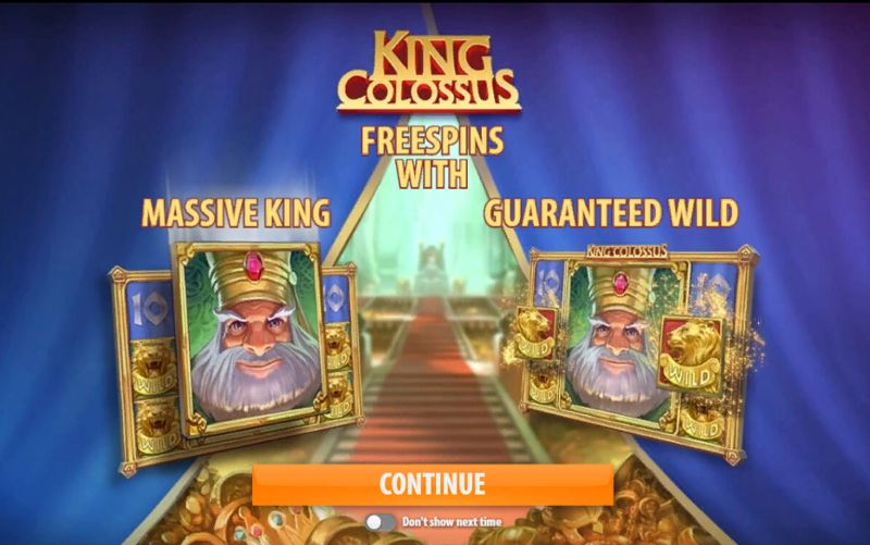 King Colossus Slot Online